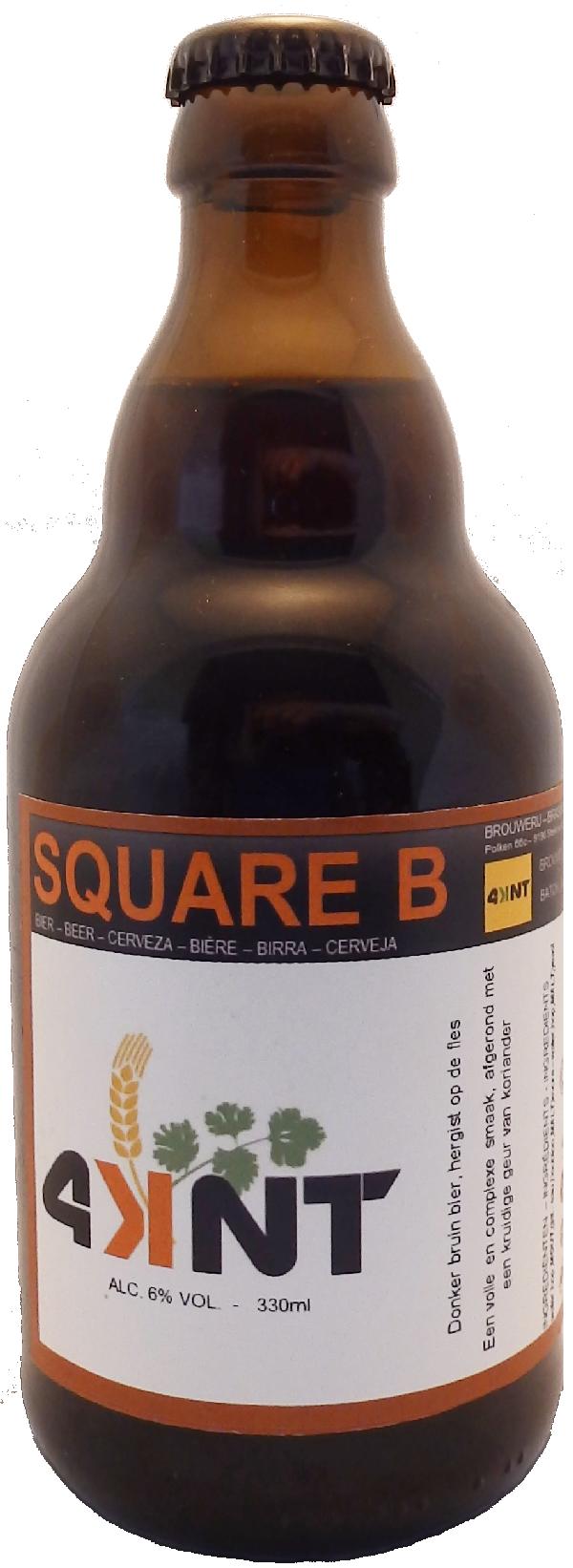 Square B fles