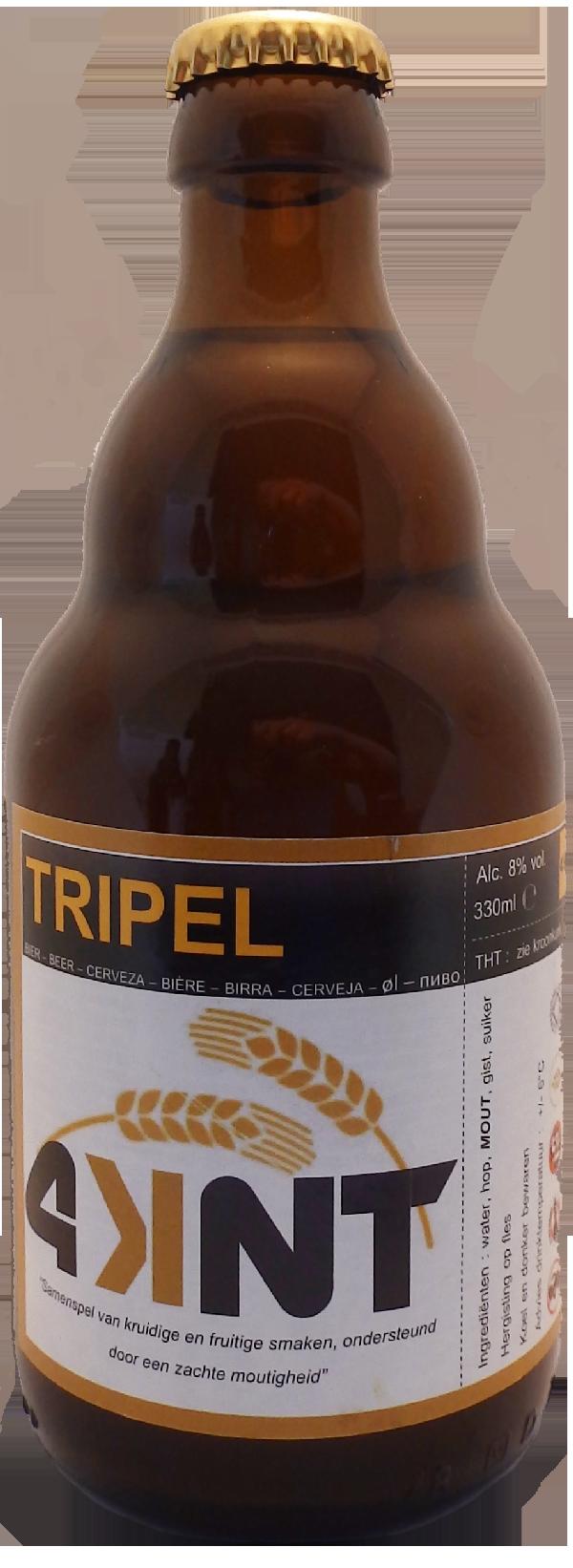 Tripel fles